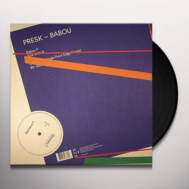 Presk BABOU Vinyl Record