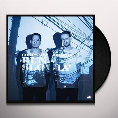 Chopstick & Johnjon RUN SLOWLY (EP) Vinyl Record