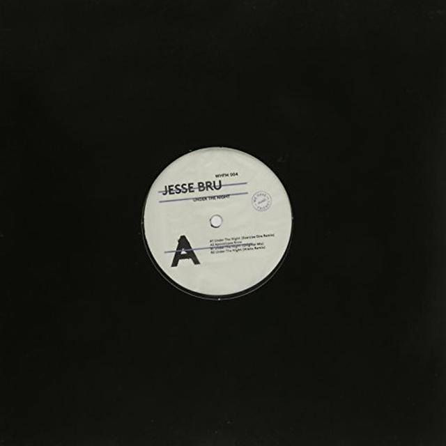 Jesse Bru UNDER THE NIGHT Vinyl Record