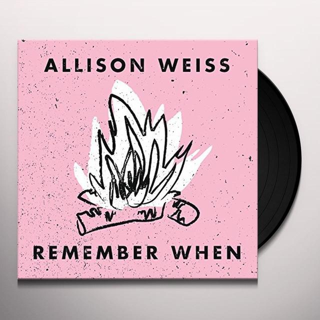 Allison Weiss REMEMBER WHEN Vinyl Record