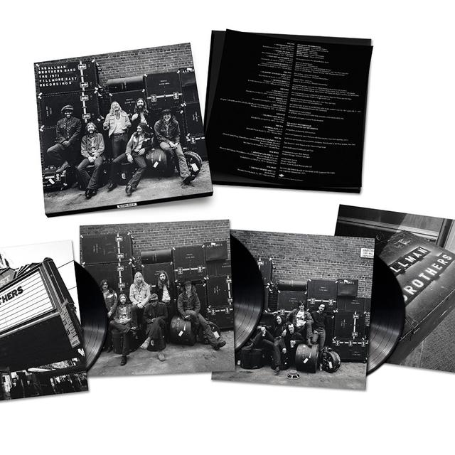 The Allman Brothers Band  1971 FILLMORE EAST RECORDINGS Vinyl Record