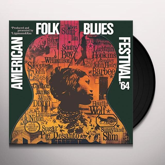 AMERICAN FOLK BLUES FESTIVAL 64 / VARIOUS Vinyl Record