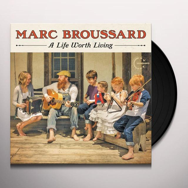 Marc Broussard LIFE WORTH LIVING Vinyl Record