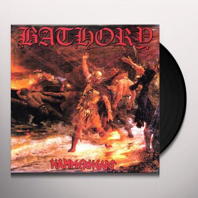 Bathory HAMMERHEART Vinyl Record - Limited Edition
