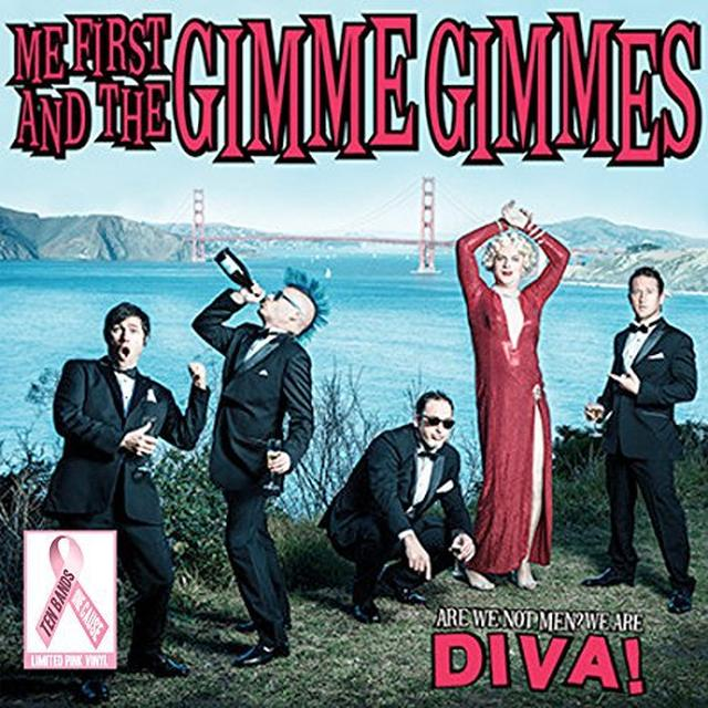 Me First and the Gimme Gimmes ARE WE NOT MEN: WE ARE DIVA Vinyl Record
