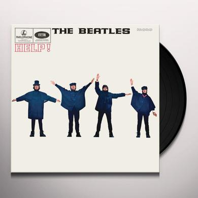 The Beatles HELP Vinyl Record - Mono