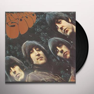 The Beatles RUBBER SOUL Vinyl Record - Mono