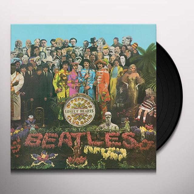 The Beatles SGT PEPPER'S LONELY HEARTS CLUB BAND Vinyl Record - Mono