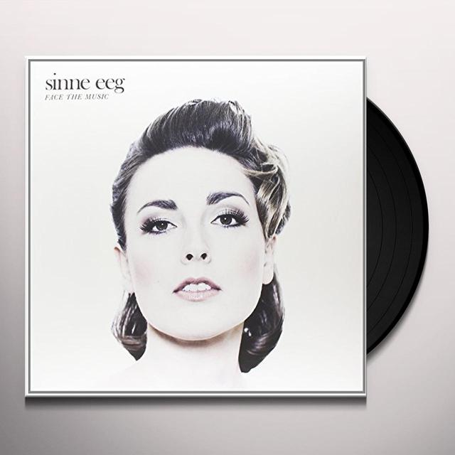 Sinne Eeg FACE THE MUSIC Vinyl Record - Holland Import
