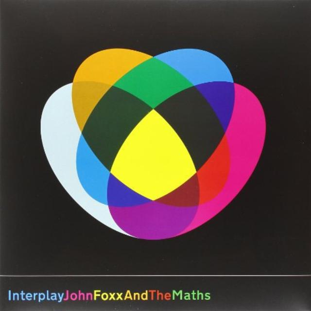 John Foxx & The Maths INTERPLAY/SHAPE OF THINGS Vinyl Record - UK Release