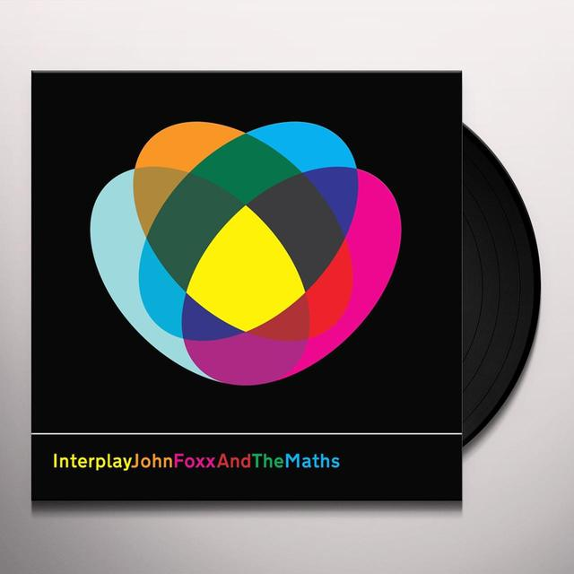 John Foxx & The Maths INTERPLAY/SHAPE OF THINGS Vinyl Record - UK Import