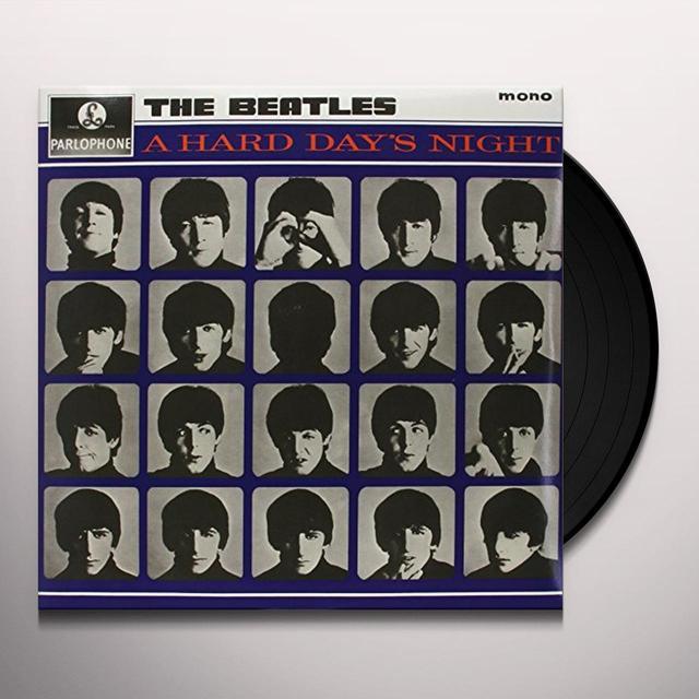 The Beatles HARD DAY'S NIGHT Vinyl Record - Mono