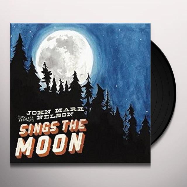 John Mark Nelson SINGS THE MOON Vinyl Record