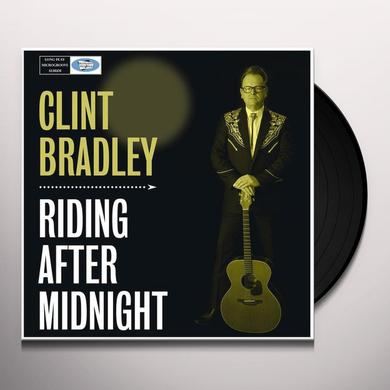 Clint Bradley RIDING AFTER MIDNIGHT Vinyl Record