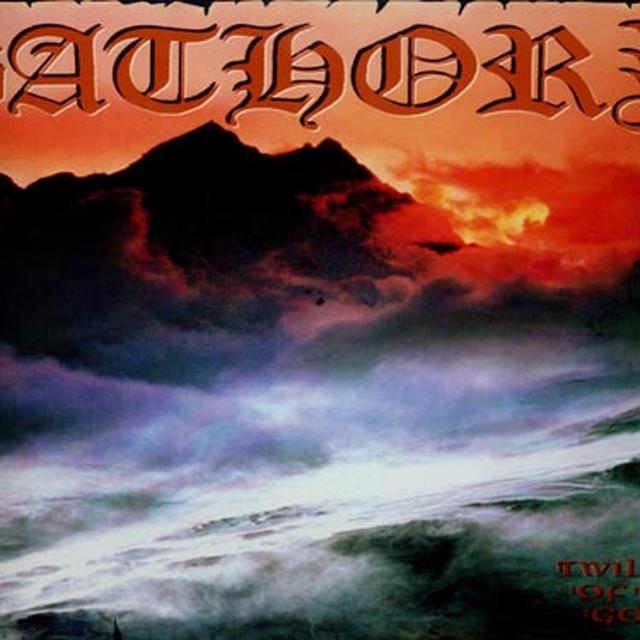Bathory TWILIGHT OF THE GODS Vinyl Record - Limited Edition