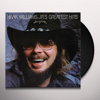 Hank Williams, Jr. GREATEST HITS 1 Vinyl Record - 180 Gram Pressing, Digital Download Included