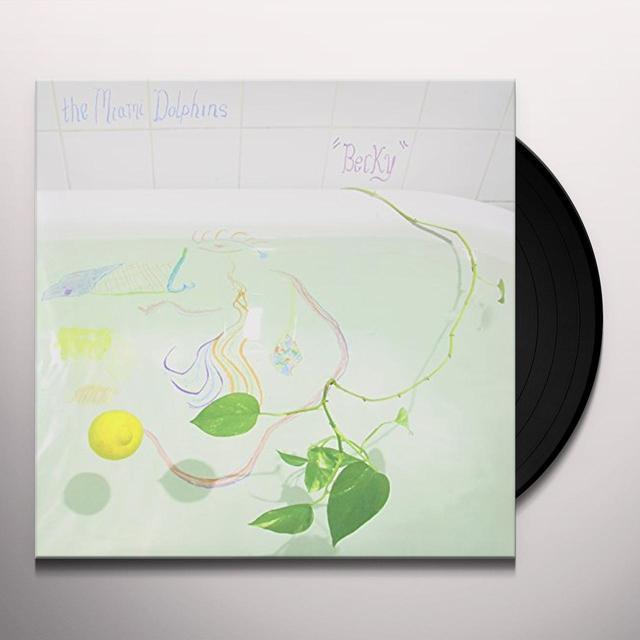 Miami Dolphins BECKY Vinyl Record