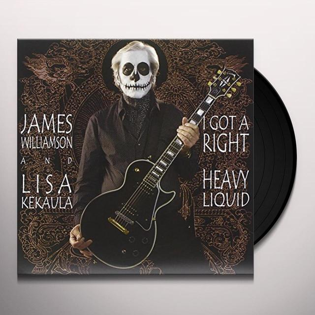 James Williamson / Lisa Kekaula I GOT A RIGHT Vinyl Record