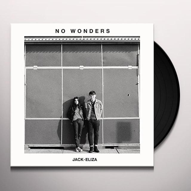 Jack & Eliza NO WONDERS Vinyl Record - 10 Inch Single