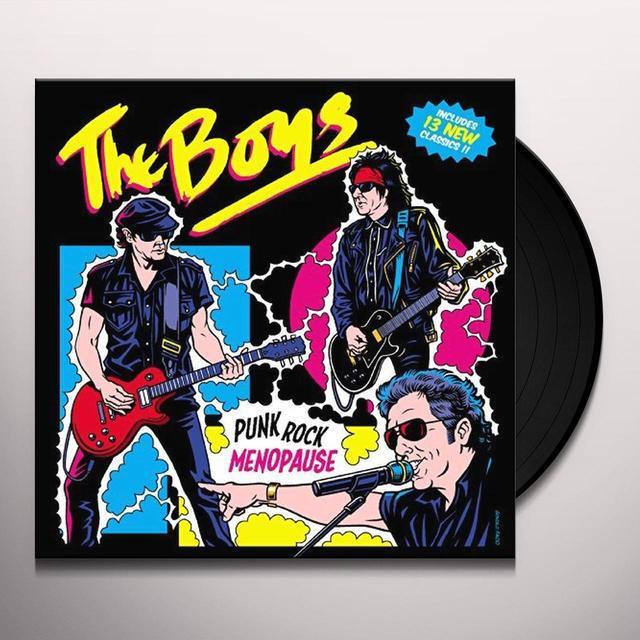 Boys PUNK ROCK MENOPAUSE Vinyl Record