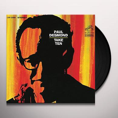 Paul Desmond TAKE TEN Vinyl Record - 180 Gram Pressing