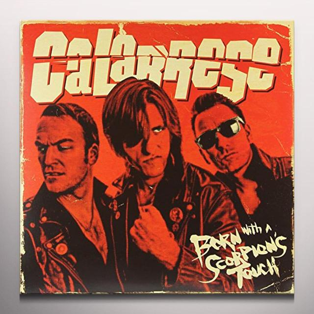Calabrese BORN WITH A SCORPION'S TOUCH Vinyl Record - Blue Vinyl