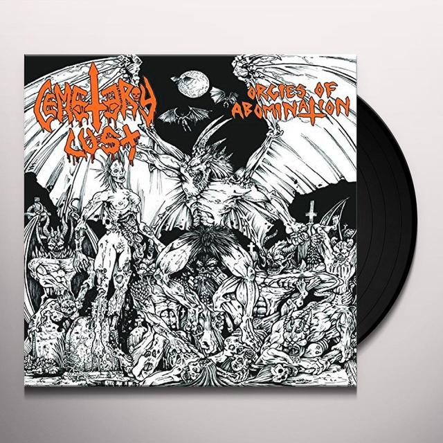 Cemetery Lust ORGIES OF ABOMINATION Vinyl Record