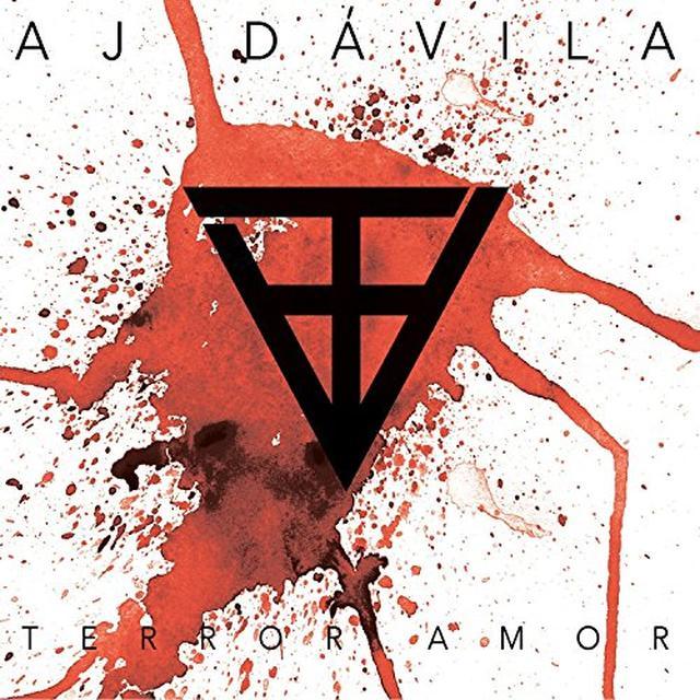 Aj Davila TERROR AMOR Vinyl Record