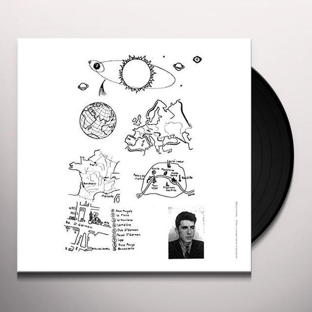 Maurice Lemaitre POEMES ET MUSIQUES LETTRISTES ET HYPERPHONIE Vinyl Record