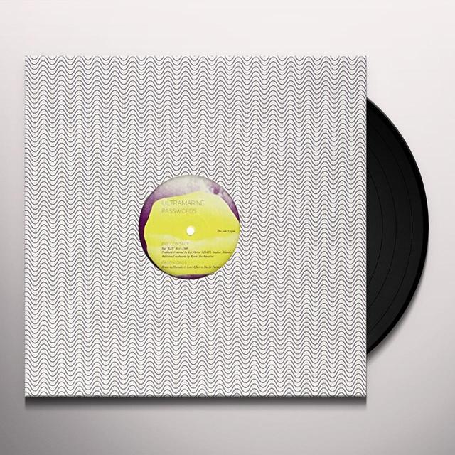 Ultramarine PASSWORDS (EP) Vinyl Record