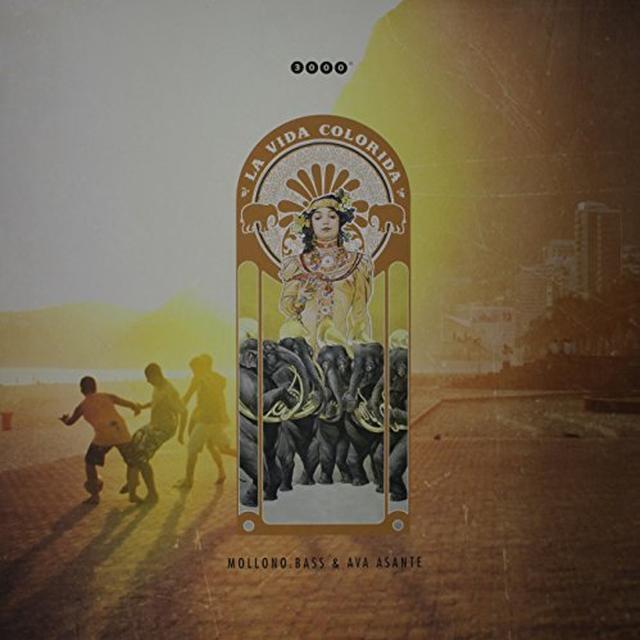 Bass Mollono / Ava Asante LA VIDA COLORIDA (EP) Vinyl Record