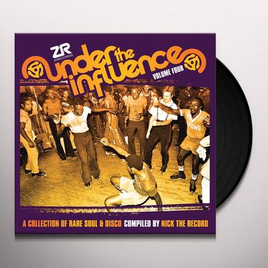 Nick The Record UNDER THE INFLUENCE 4: A COLLECTION OF R Vinyl Record