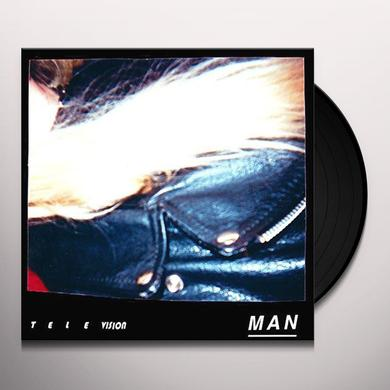 Naomi Punk TELEVISION MAN Vinyl Record - Digital Download Included