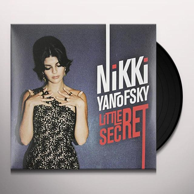 Nikki Yanofsky LITTLE SECRET Vinyl Record - Canada Import