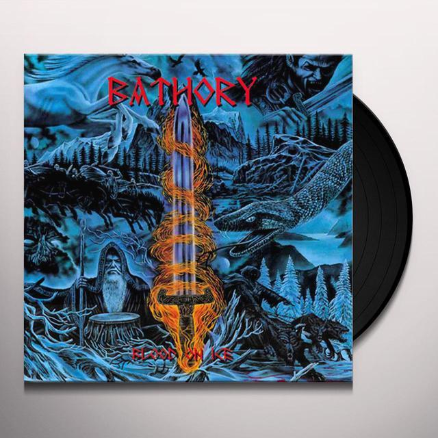 Bathory BLOOD ON ICE Vinyl Record