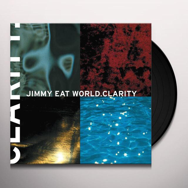 Jimmy Eat World CLARITY (CLEAR) Vinyl Record