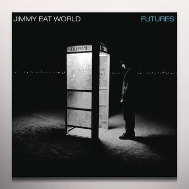 Jimmy Eat World FUTURES Vinyl Record - Blue Vinyl