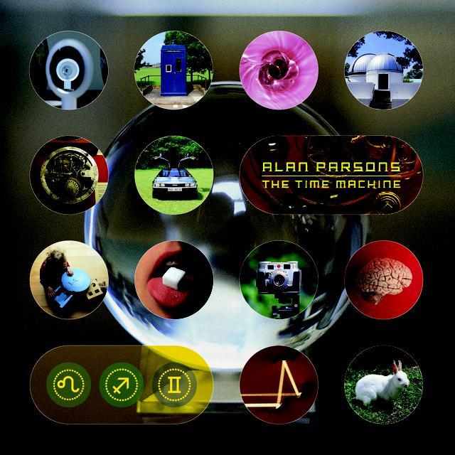 Alan Parsons TIME MACHINE (BONUS TRACK) Vinyl Record - Gatefold Sleeve, 180 Gram Pressing