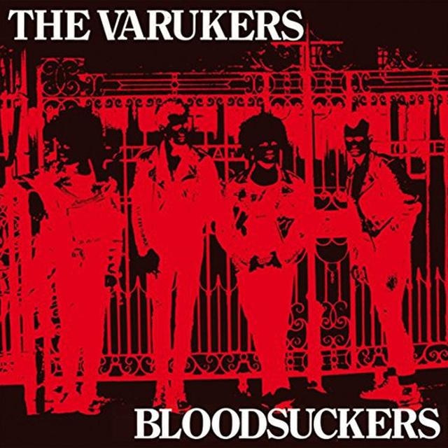 The Varukers BLOODSUCKERS Vinyl Record