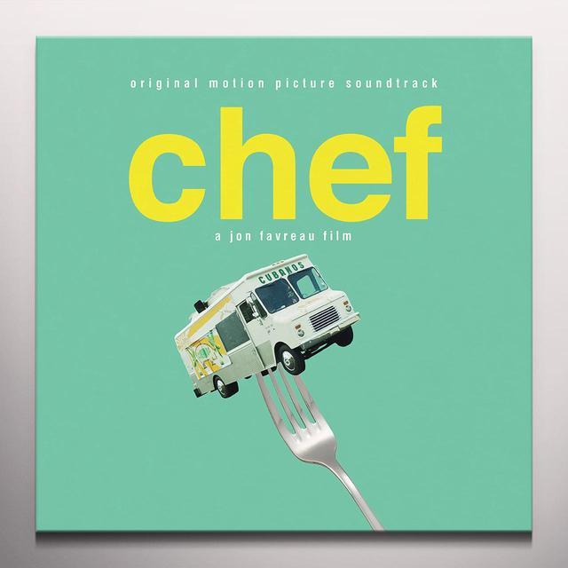 CHEF / O.S.T. (DLCD) (COLV) (OGV) CHEF / O.S.T. Vinyl Record - Colored Vinyl, 180 Gram Pressing, Digital Download Included