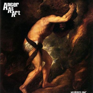 Anger As Art HUBRIS INC Vinyl Record