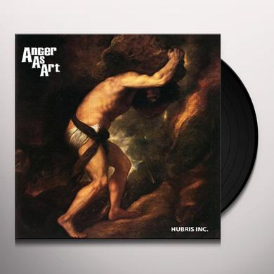 Anger As Art HUBRIS INC Vinyl Record