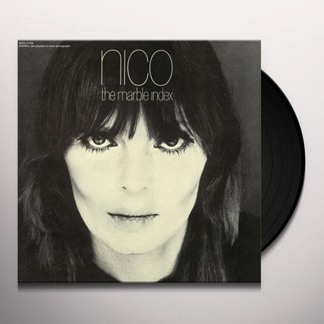 Nico THE MARBLE INDEX Vinyl Record - Holland Import