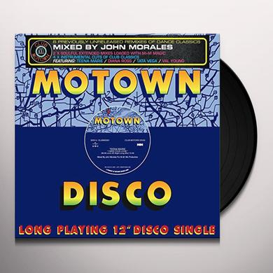 John Morales Presents Motown Divas (Various UK) JOHN MORALES PRESENTS MOTOWN DIVAS / VARIOUS Vinyl Record - UK Import