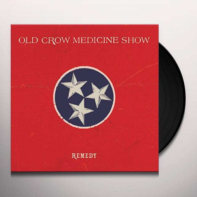 Old Crow Medicine Show REMEDY Vinyl Record - Canada Import