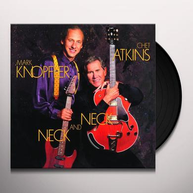 Chet Atkins & Mark Knopfler NECK & NECK Vinyl Record - Holland Import