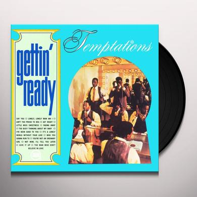 The Temptations GETTIN' READY Vinyl Record - Holland Import
