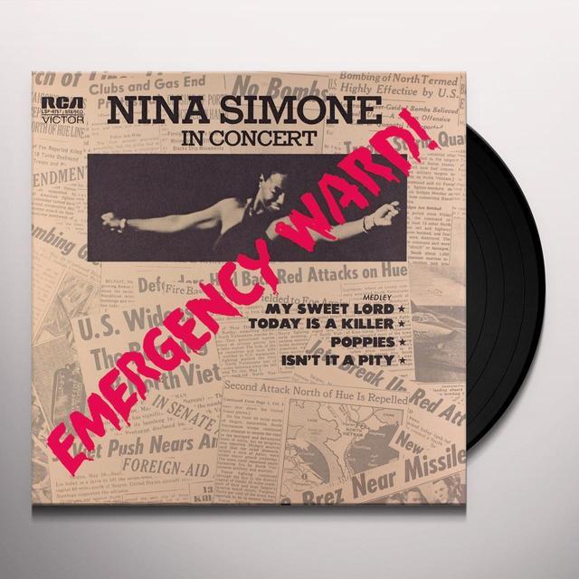 Nina Simone EMERGENCY WARD Vinyl Record - Holland Import