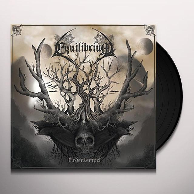Equilibrium ERDENTEMPEL: WHITE PRESSING (GER) Vinyl Record