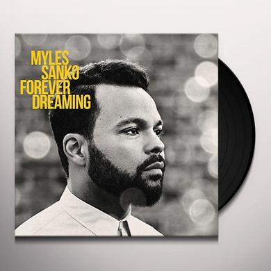 Myles Sanko FOREVER DREAMING Vinyl Record